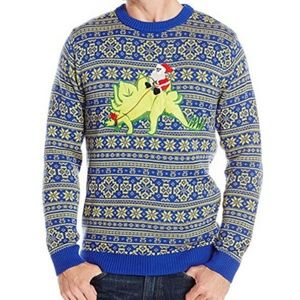 Other - NWT Stegosaurus & Santa Sweater
